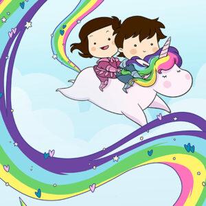 Arcobaleno ed Unicorno