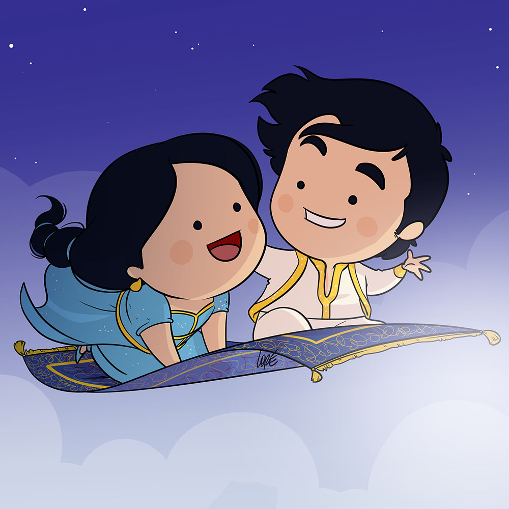 Aladdin cartoni animati