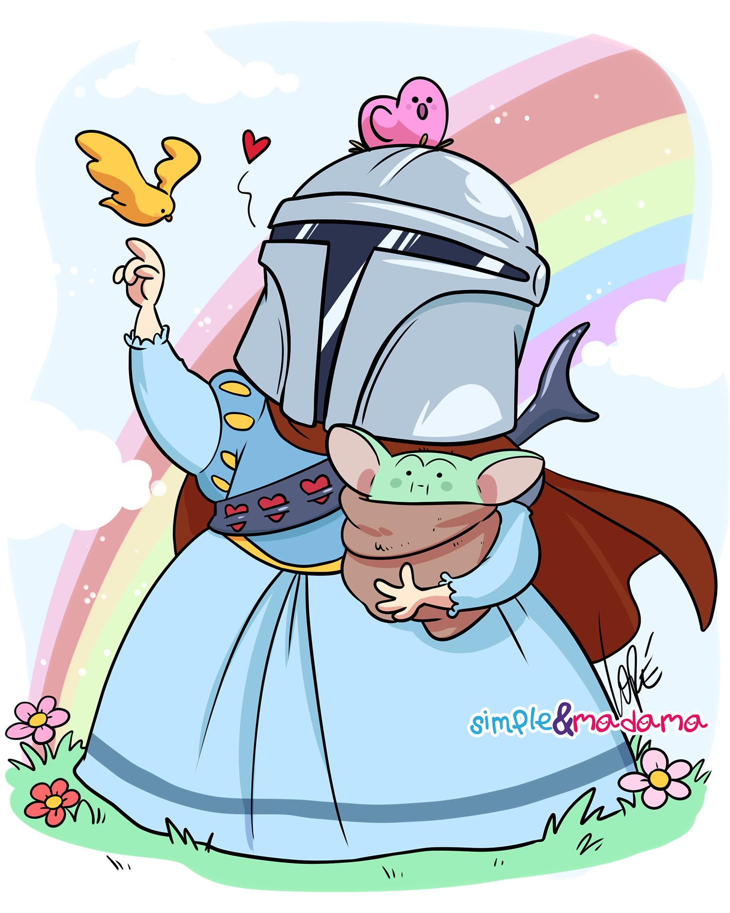il_mandaloriano_principessa